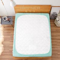 博洋家纺出品喜布诺床笠席梦思加厚床垫保护套1.5m1.8m防水床单罩 (¥309(券后))