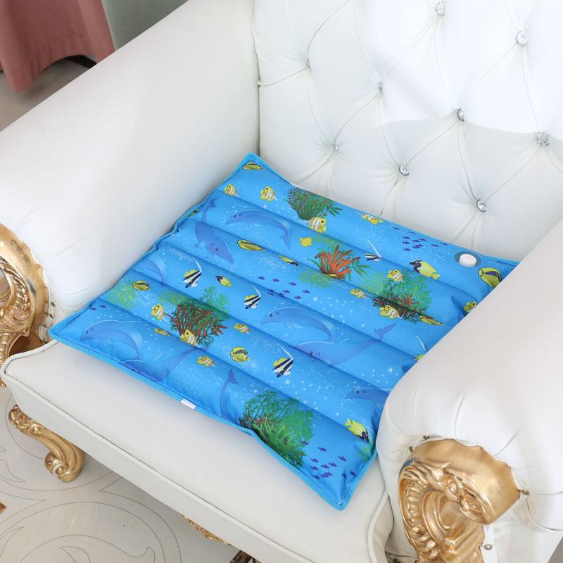 水垫 冰垫 水坐垫 水袋坐垫子 夏季天大波浪降温沙发座椅垫 凉垫
