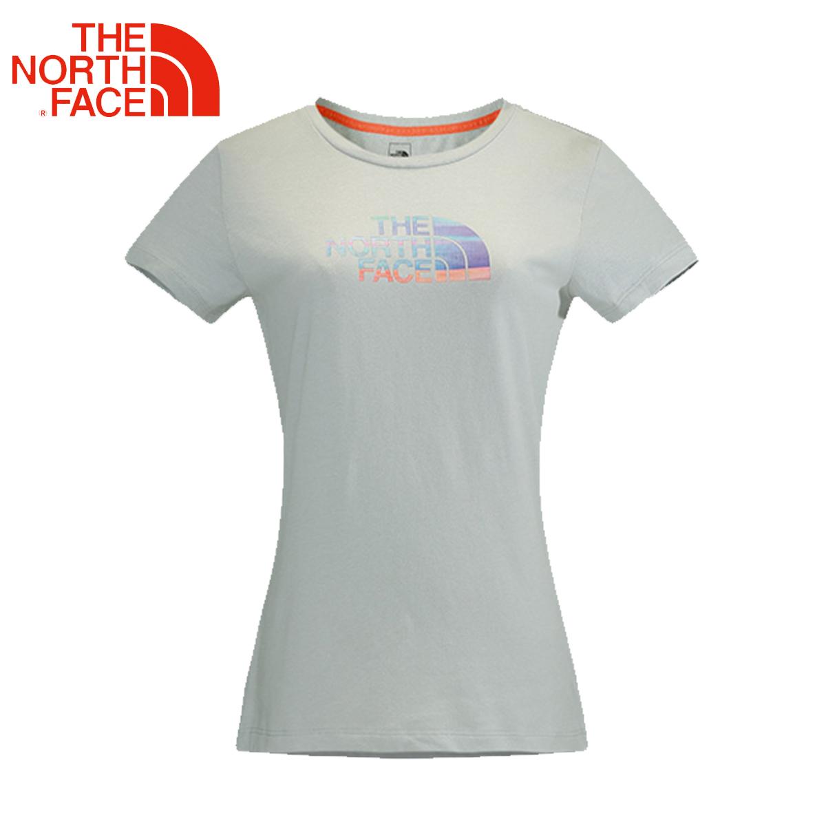 TheNorthFace北面春夏女户外透气舒适圆领休闲短袖T恤CE1Z