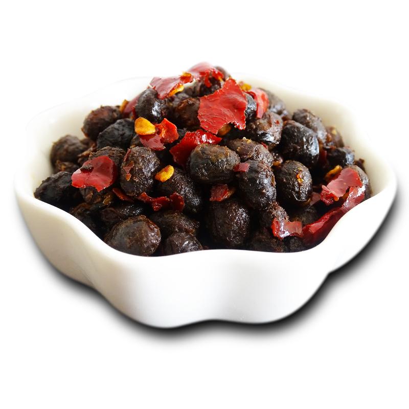 风味豆豉9斤包邮酱香原味湖北特产麻辣黑豆豉干老坛辣椒酱下饭菜