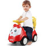 Children shilly-car baby yo car with music scooter male and female children aged 1-2 niu car toy car