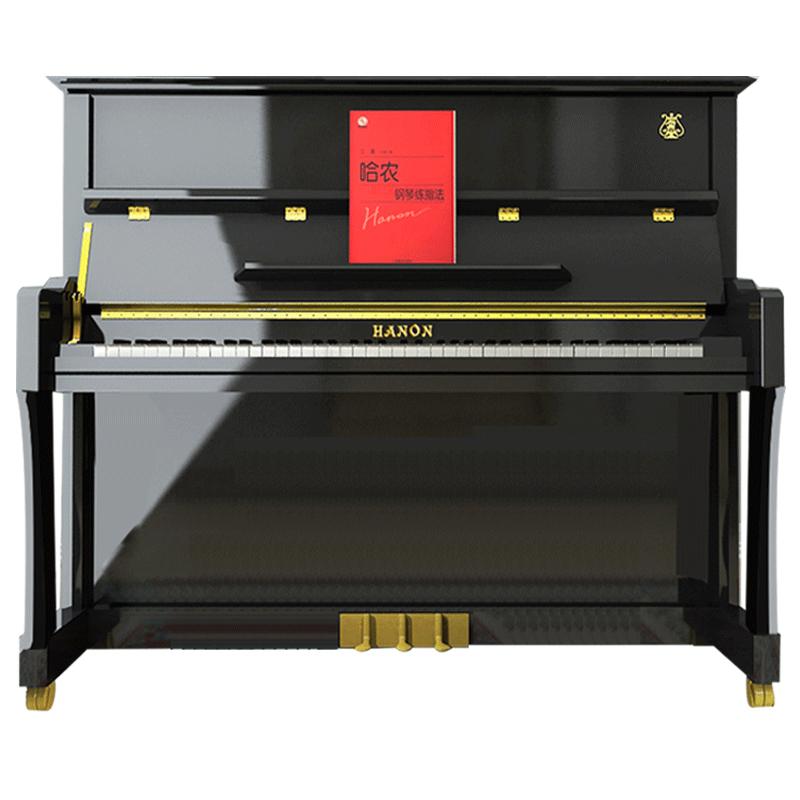 UP126 德国品牌哈农钢琴大人家用演奏学生儿童初学者专业立式钢琴