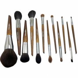 纯羊毛沧州化妆刷套装全套美妆工具初学者专业散粉刷修容刷眼影刷