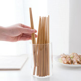 Takimoto chopsticks non-slip anti-mold household high-grade high temperature resistant bamboo family bamboo chopsticks Japanese solid wood natural tako