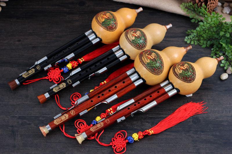 调红木管乌木管葫芦丝初学专业演奏云南乐器专卖 b 调降 c 臻品葫芦丝