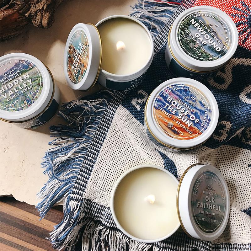 国家公园系列进口精油香薰蜡烛安神宝藏品牌助眠净化空气 ETHICS