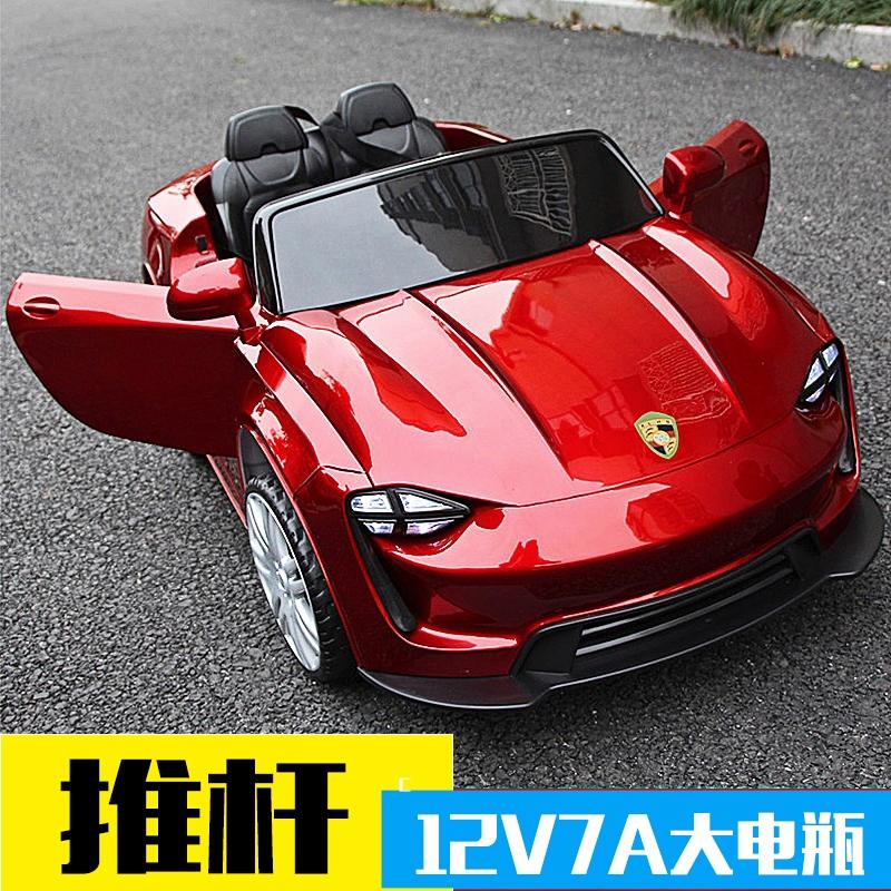 充电儿童电动车四轮遥控汽车可坐童车男女宝宝小车子玩具车可坐人