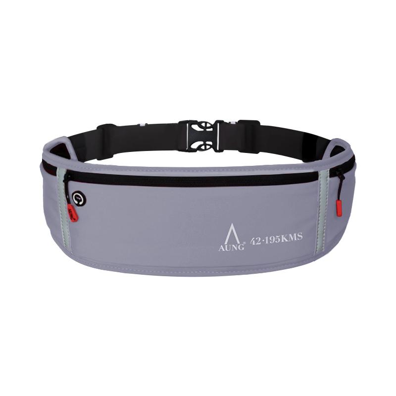 AUNG昂牌运动腰包跑步手机包男女多功能装备防水隐形超薄腰带包