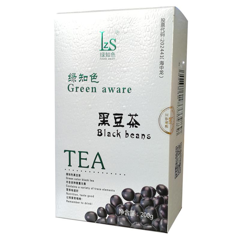 绿知色黑豆茶男女肾绿色食品认证五谷杂粮茶非水果肝用花茶叶新品