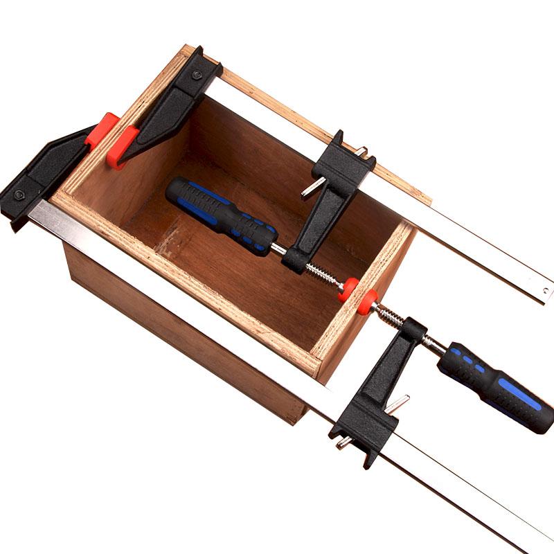f夹木工夹 美式木工夹子 G字夹f夹拼板夹固定夹快速夹木板夹夹具
