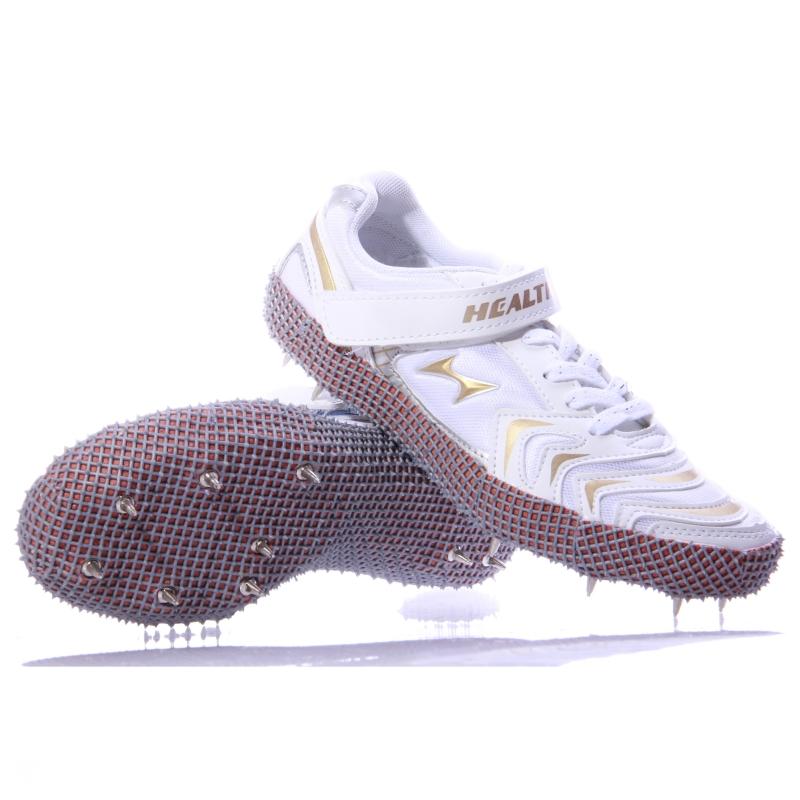 608 新款正品海尔斯跳高鞋钉子鞋男女田径钉鞋训练鞋撑杆跳鞋