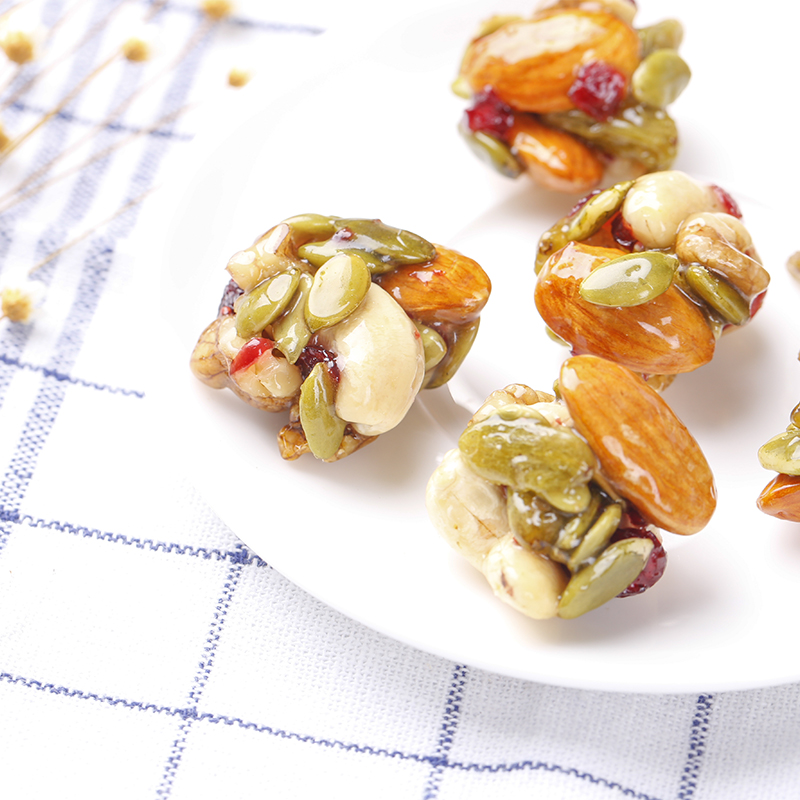 【漠里香】坚果蛋蛋第2代每日坚果组合混合坚果礼盒网红零食192g