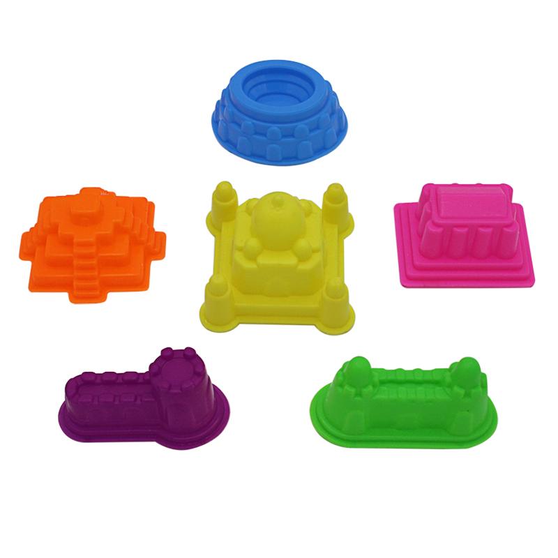 太空玩具沙粘土全套模具城堡汽车套装玩沙工具厂家直营包邮批混发