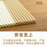 Green paper straw disposable paper coffee tea length custom thick hot tube cocktail