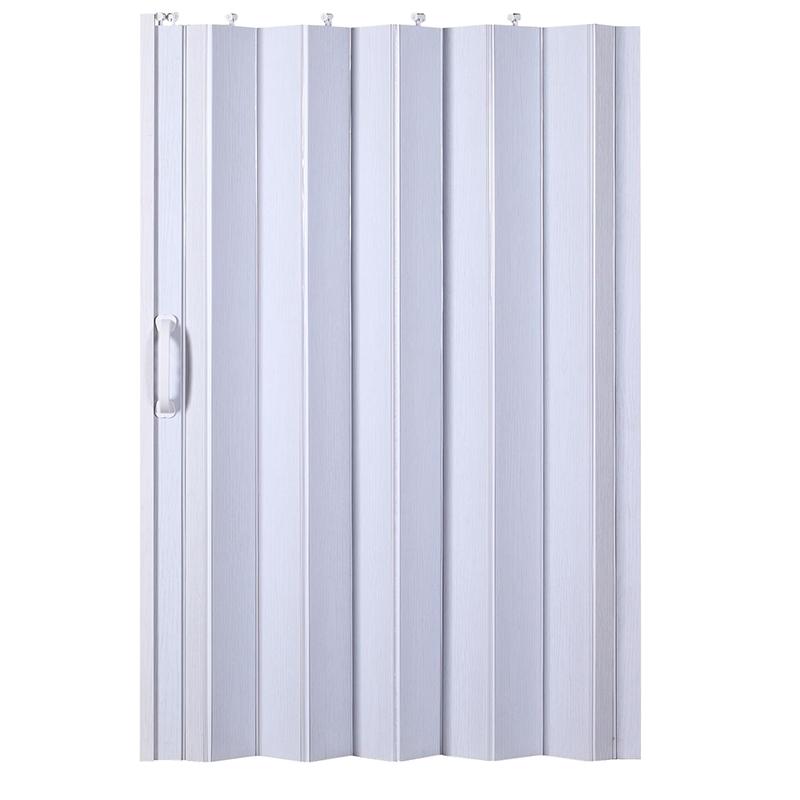 定制pvc折叠门厨房卫生间室内阳台衣柜厕所商铺简易推拉特价隔断