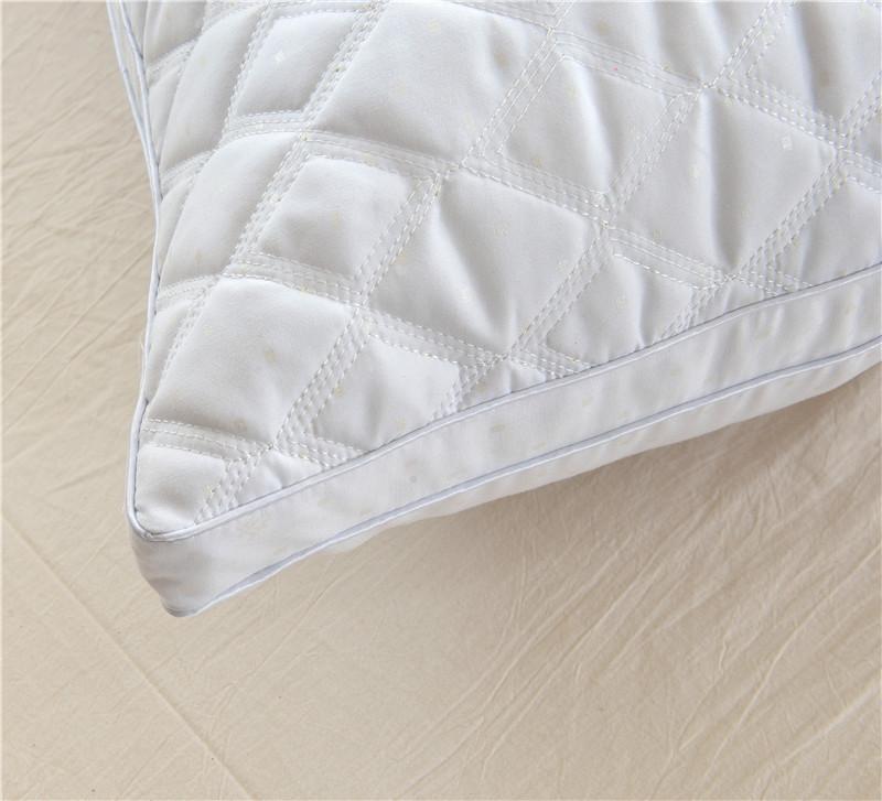 特价五星级酒店全棉枕头枕芯羽丝绒护颈枕头成人正品