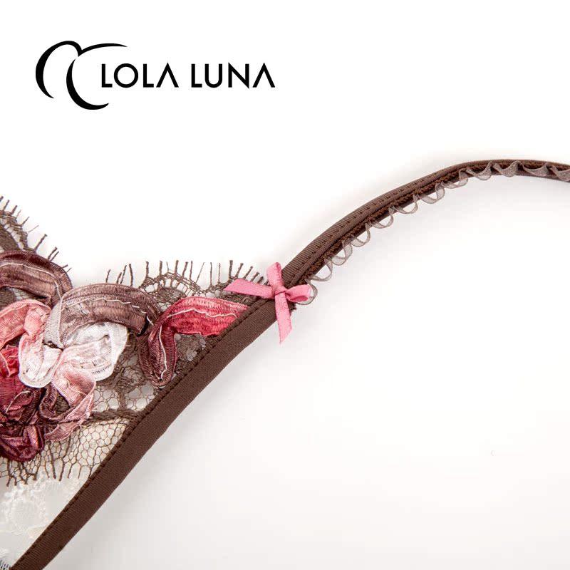 法国Lola Luna内裤[芍药少女]性感无痕蕾丝面料售完展示页面