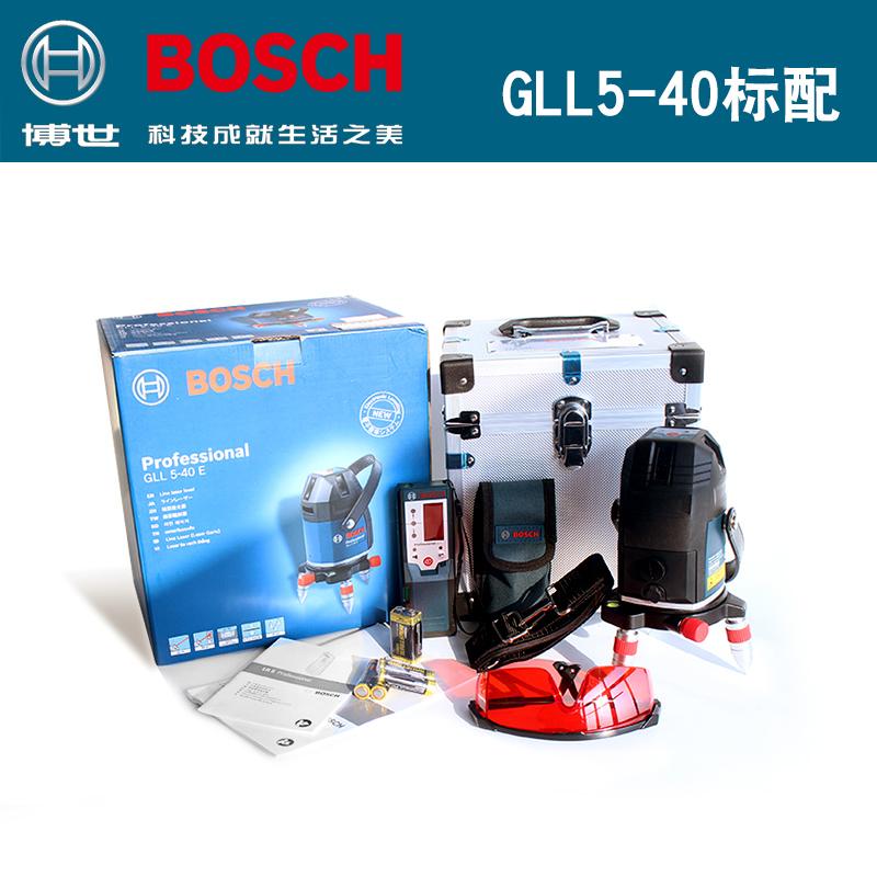 博世电子水平仪GLL5-40E/GLL8-40E/5线8线激光水平投线仪超高精度