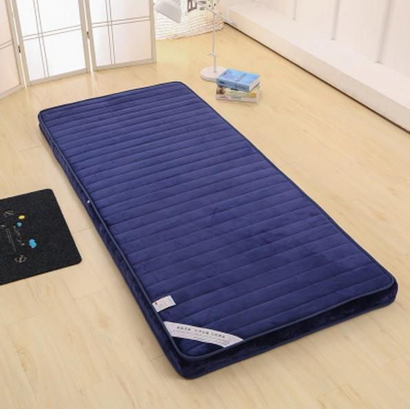 加厚榻榻米学生宿舍0.9m折叠床褥床垫1.5m床1.8m单人床垫海绵睡垫