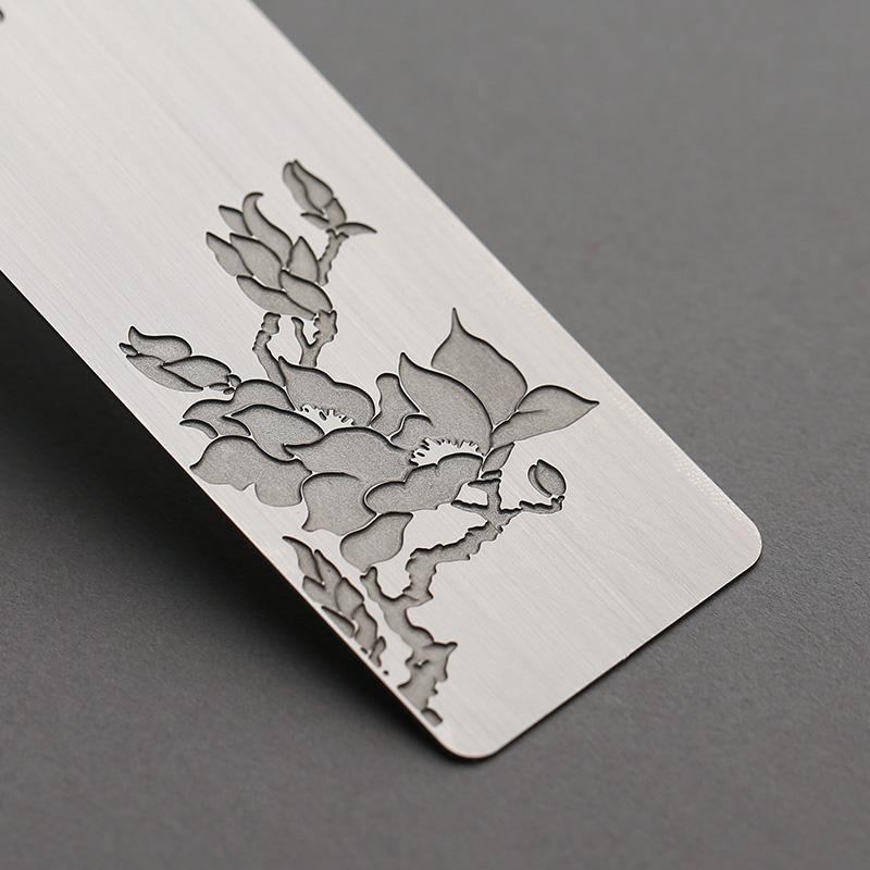 精致复古典中国风流苏学生用创意生日礼品小礼物女老师 diy小清新精美不锈钢金属女生古风书签简约定制刻字