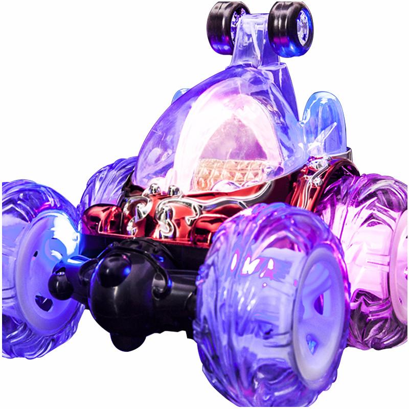 遥控车特技翻斗车充电动翻滚摇控大号越野遥控汽车男孩儿童玩具车