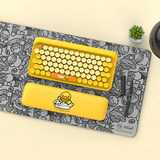 LOFREE Luofei small yellow duck suit B.Duck Bluetooth wireless keyboard mechanical keyboard portable gaming office