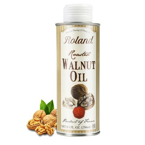 法国进口Roland罗朗德宝宝DHA核桃油250ml婴幼儿营养油初榨食用油
