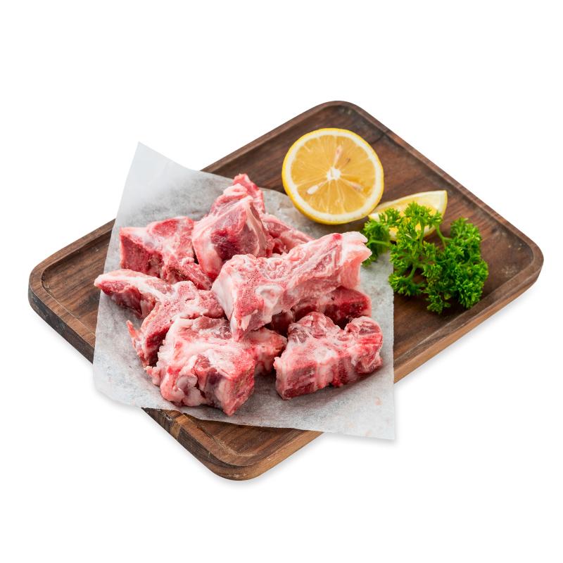 高金食品 庄园黑猪脊骨500g 新鲜土猪龙骨猪骨头生态散养现宰杀