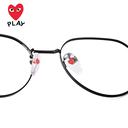 川久保玲复古眼镜框女近视眼镜架男韩版潮网红款配有度数眼睛圆脸 - 2