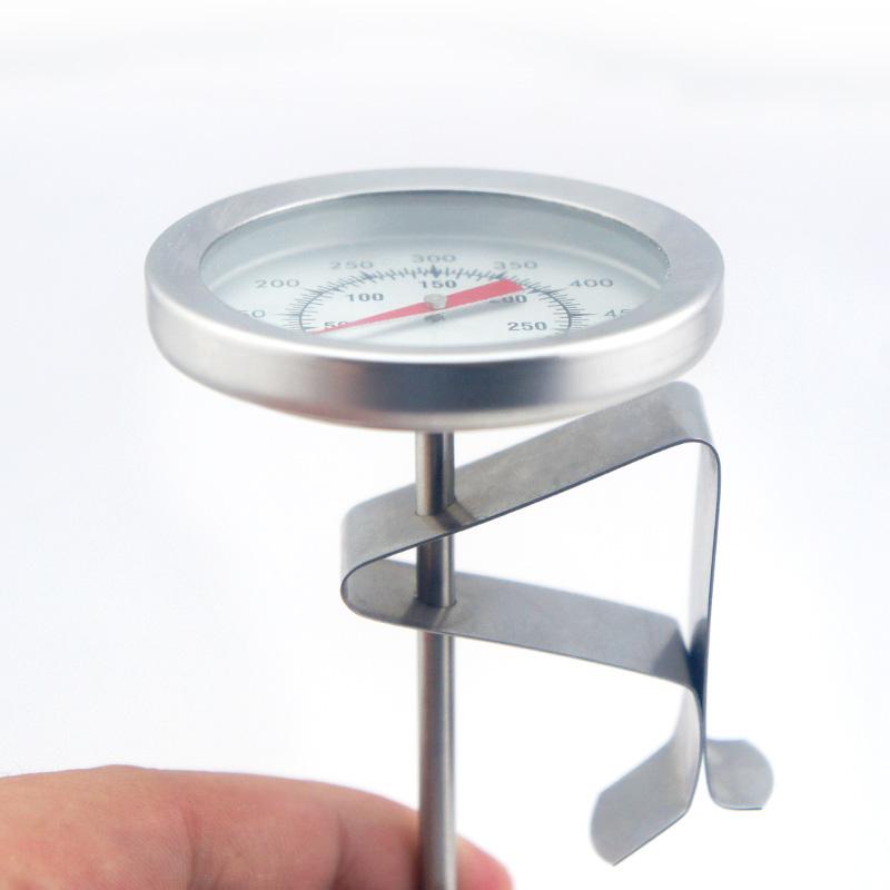 美德时不锈钢厨房油温计 食品温度计 油炸油锅 测油温专用温度计