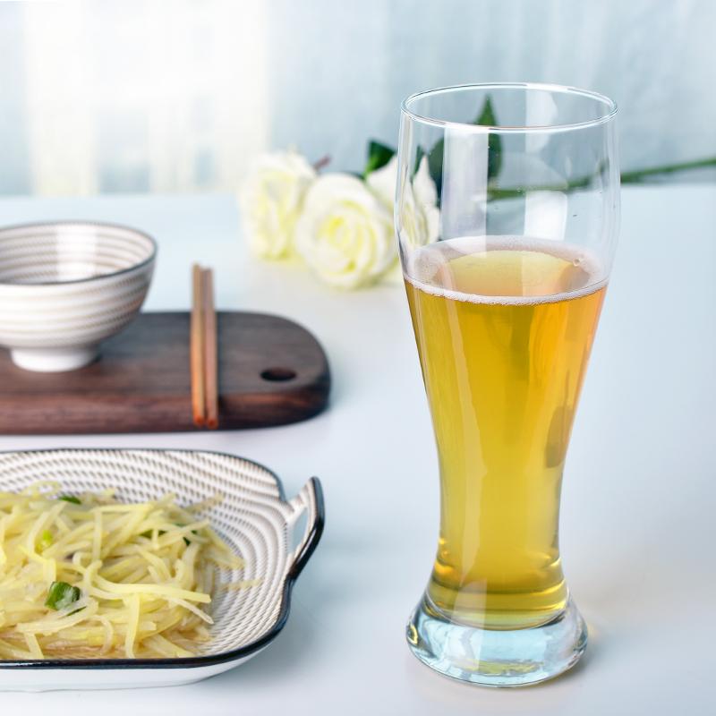 Pasabahce进口啤酒杯 德国小麦扎啤杯创意超大号玻璃杯精酿家用