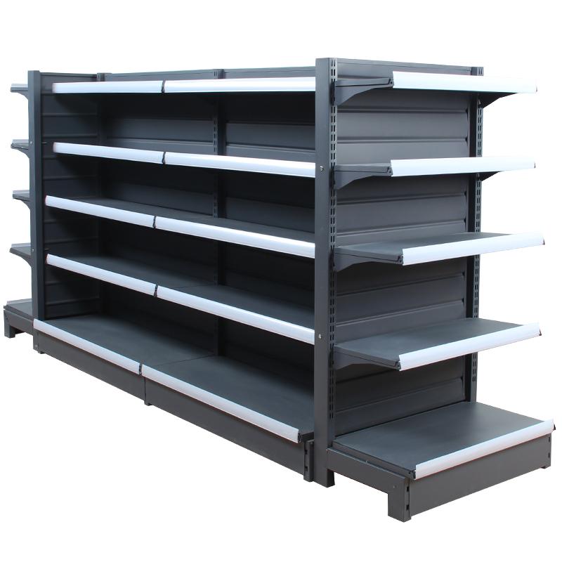 超市货架展示架小卖部商店零食便利店双面单面多功能自由组合货架
