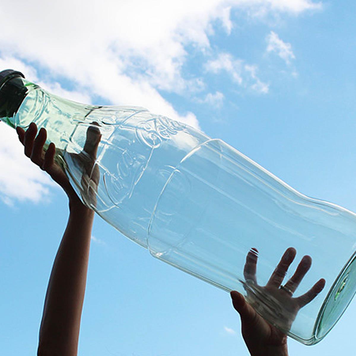 美国原产 超大号美国可口可乐经典玻璃瓶造型塑料存钱罐