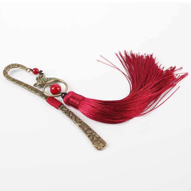 中国风古典流苏书签复古风宫廷创意文化气质礼物民族风文艺书签