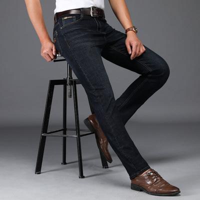 正品老爷车牛仔裤男夏季韩版宽松直筒弹力潮流男士牛仔长裤子薄款