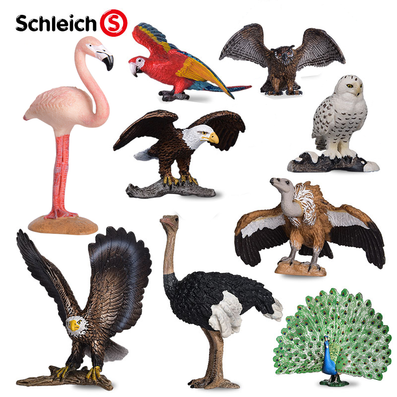Schleich Snowy Owl Animal Figure NEW IN STOCK Educational