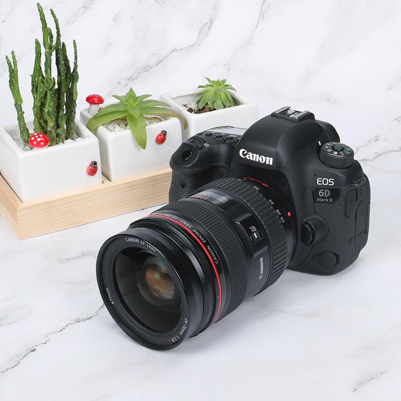 佳能EOS6D MarkII 24-105 STM套机 专业全画幅单反相机6D2可选USM