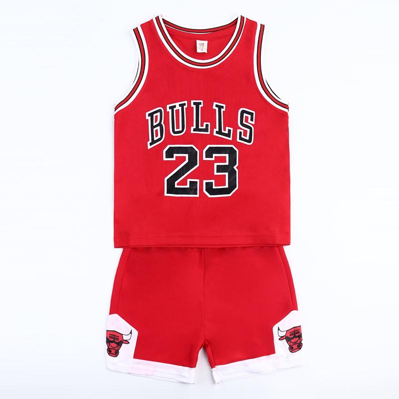 巴拉bala男童运动套装夏季2021新款中大童女童装速干衣儿童篮球服