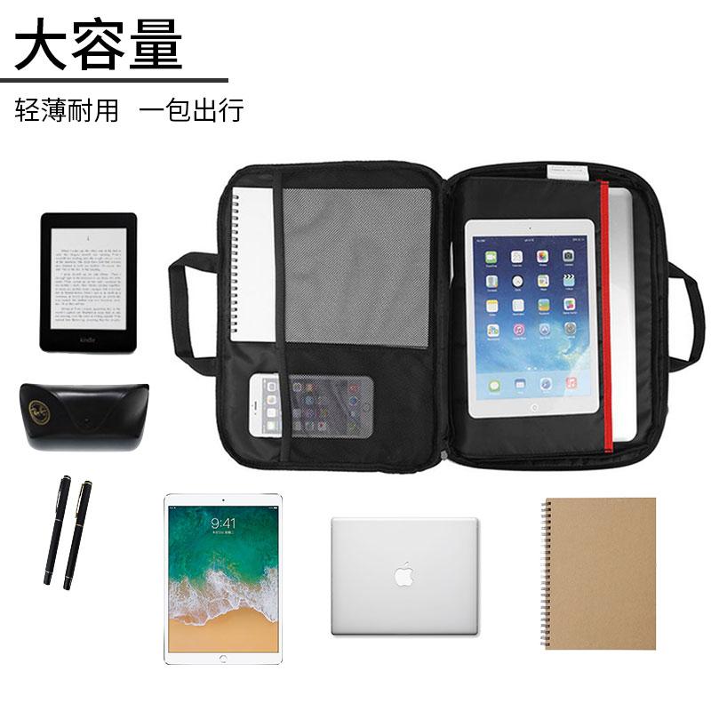 Lenovo/联想原装T2140轻薄便携笔记本电脑单肩包苹果小米小新14英寸内胆保护套男女13.3寸时尚商务斜跨手提包