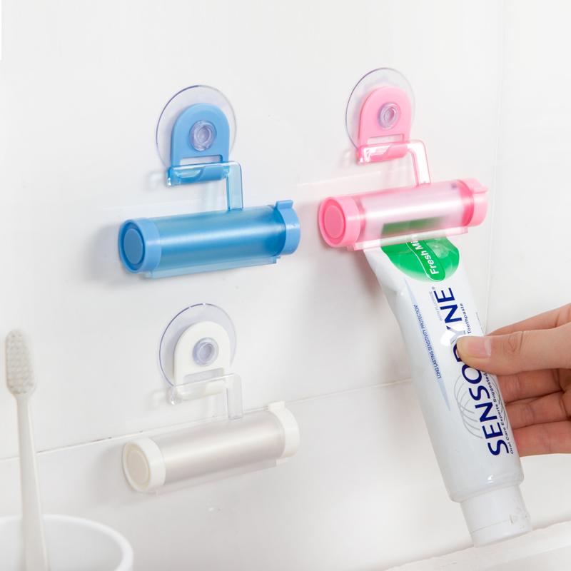 百屋家用挤牙膏器手动卡通韩国懒人神器牙膏夹儿童洗面奶按挤压器