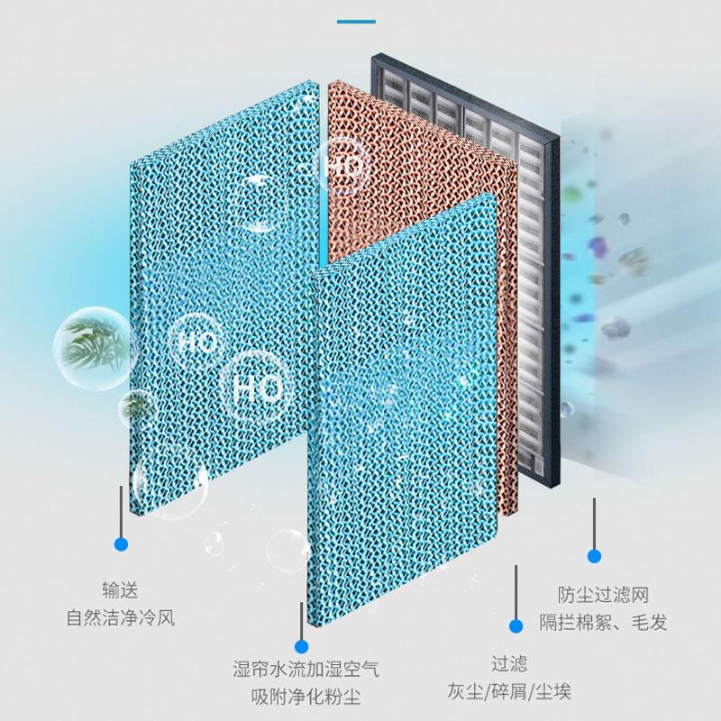 志高工业空调扇大型冷风机单冷风扇家用制冷器移动水冷小空调新款