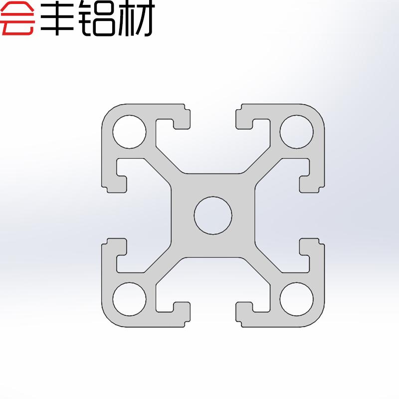 铝型材4040 欧标重型铝合金型材 工业铝方管框架鱼缸架光伏 现货