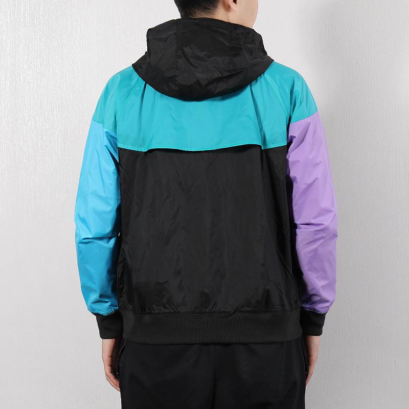 Nike耐克外套男装2019夏季新款风行者运动服休闲防风上衣连帽夹克