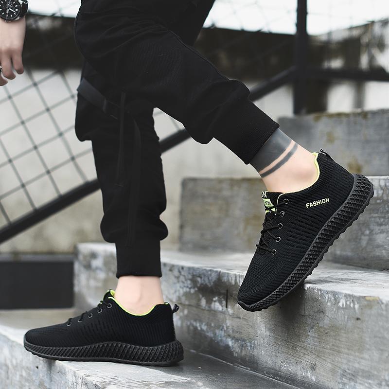 回力男鞋夏季运动鞋男士跑步鞋黑色防臭耐磨工作鞋休闲秋季潮 2020