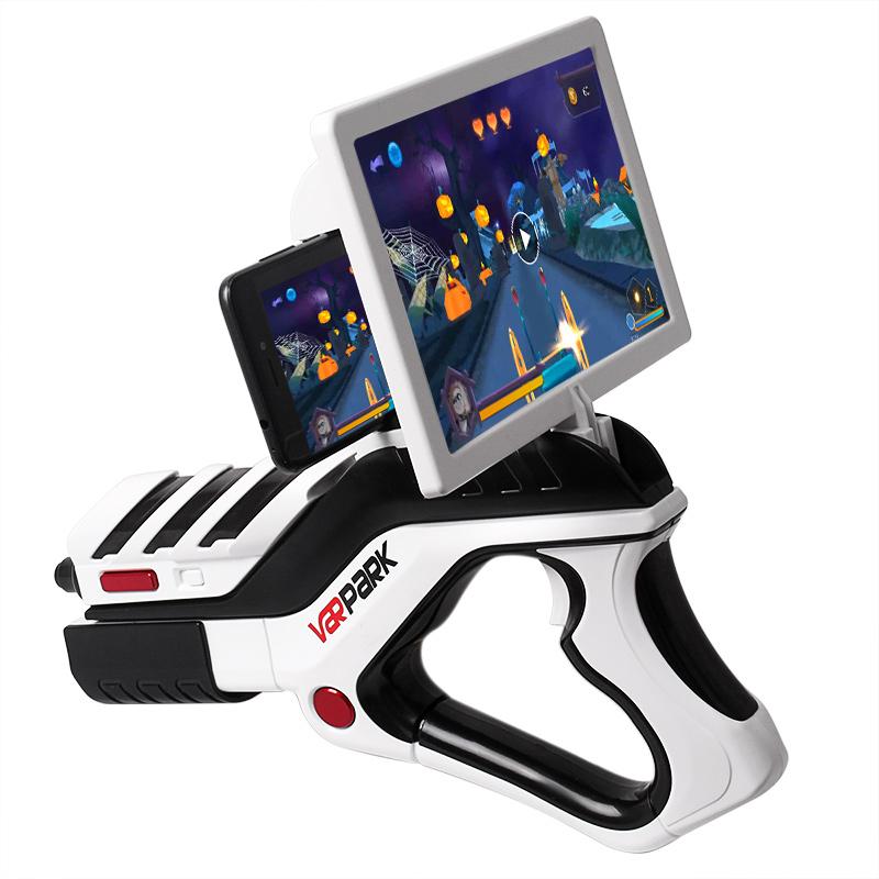 4D实景射击手机游戏手柄儿童电动玩具枪益智减压AR游戏枪生日礼物