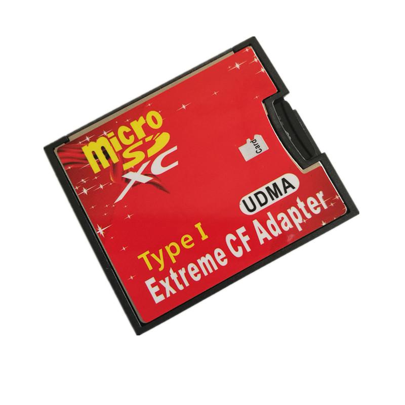 原裝TF轉CF micro sd轉CF卡套支援SDXC 512GB 高速相機CF轉接卡