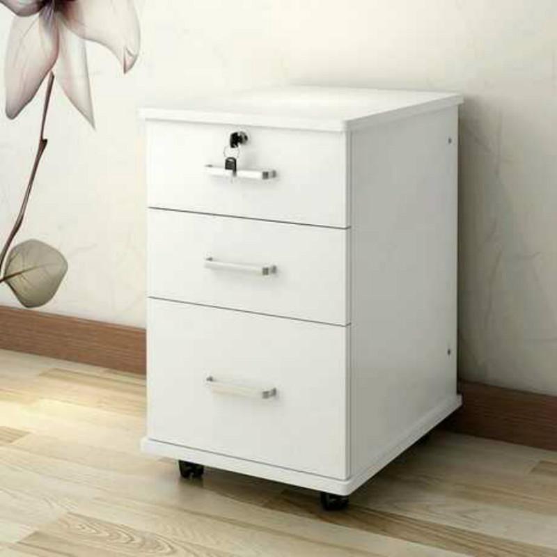 办公木质文件柜复印机柜打印机工作台底座活动矮抽屉落地柜置物柜