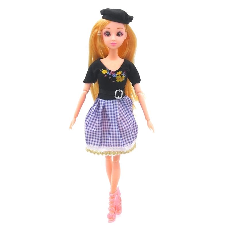克时帝芭比30CM换装套装洋娃娃时尚衣服装时装裙子礼服短裙婚纱