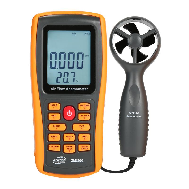 标智GM8901数字风速仪风速计高精度风速风温风量测试仪分体测风仪