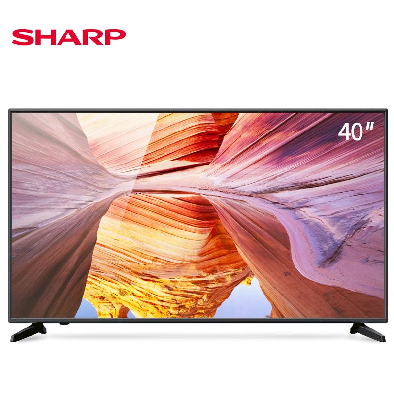 45 英寸高清智能网络液晶家用卧室平板电视机 40 40M4AS 夏普 Sharp